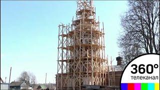 В подмосковных Мытниках продолжается восстановление Христорождественского храма