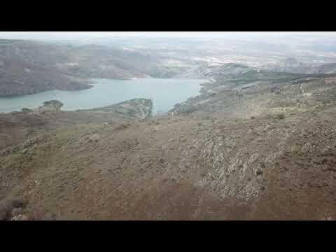 Ankara Kalecik Göl Köy Yolundan Baraj Seyri