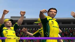 Australia vs England - 5 Overs Match 2 Part 1 - EA CRICKET 18 PC Game