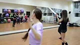 Еврейский характер... Фрагмент урока-танцевальный класс Ирины Волковой