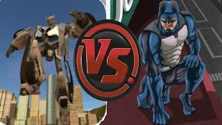 x ray robot 2 vs rope hero vice town android game play competition hd by games hole