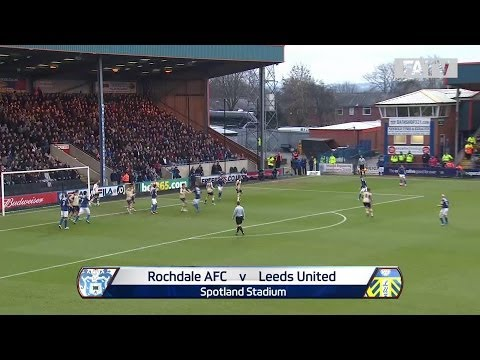 ROCHDALE AFC vs LEEDS UNITED 2-0: Official Goals & Highlights FA Cup Third Round