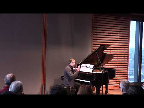 Seminar on György Ligeti – Pierre-Laurent Aimard at University of Chicago