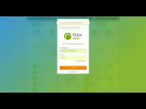 Registrierung DEUTSCH BITCOINS KAUFEN ANLEITUNG#FIDOR BANK BITCOIN.DE