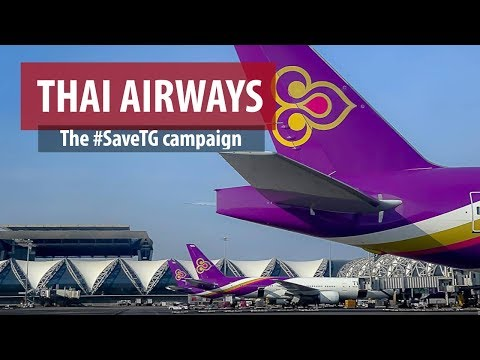 #SaveTG: Thai Airways' Turnaround Campaign