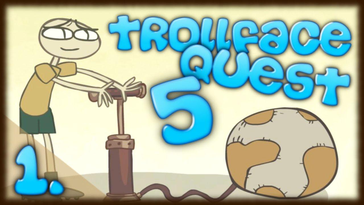 0a10c39b0 PIŁKA NOŻNA NA WESOŁO w Trollface Quest 5 | darmowe gry online | #1 ...