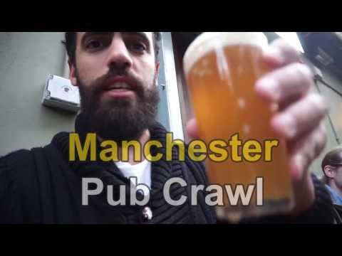 Pub crawl à Manchester