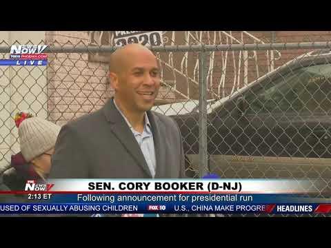 BOOKER FOR PRESIDENT?: Democratic Senator From New Jersey Speaks About 2020 Run (FNN)