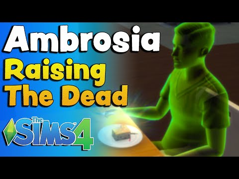 Sims 4 Ambrosia Recipe Ingredients And A Ghost To Eat It!