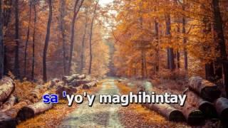 Jessa Zaragosa | Ako Sayo'y Maghihintay | Karaoke