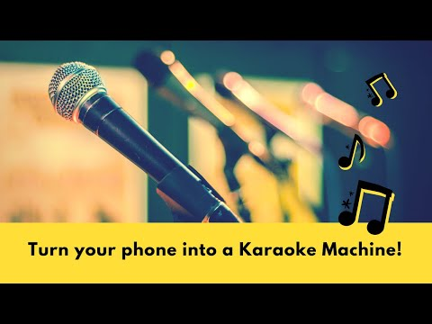 Turn Your Phone Into An Amazing Karaoke Player!