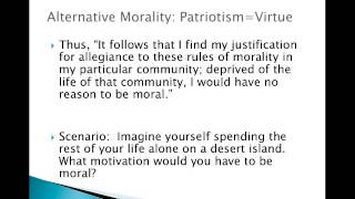 MacIntyre Is Patriotism a Virtue Part 2