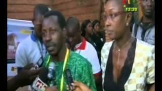 RTB - Projection du film l'œil du cyclone du Burkinabè Sékou Traoré a l'ouverture du FESPACO