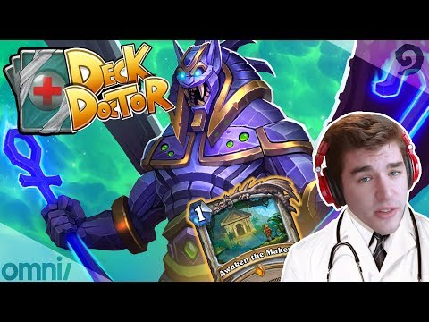 Witchwood Deck Doctor w/ Firebat: Big Quest Priest