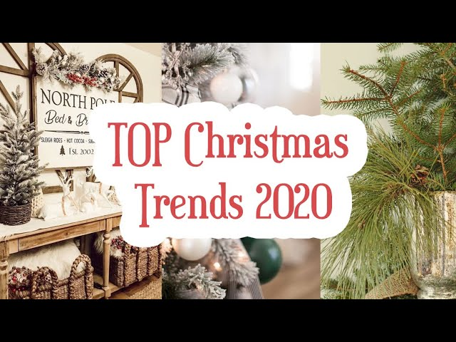 Christmas Theme For 2020 TOP CHRISTMAS TRENDS 2020 | MY CHRISTMAS THEME THIS YEAR | MOOD
