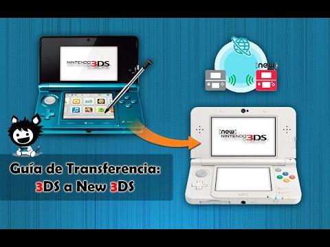 Guía de Transferencia: 3DS a New 3DS