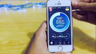 HOW TO MEASURE HEART RATE AND STRESS LEVEL WITH IPHONE. screenshot 4