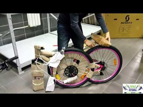 Упаковка велосипеда для отправки в другие города