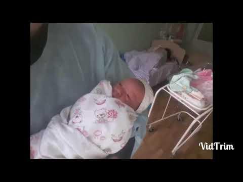 Первые минуты жизни после рождения Анастасии Александровны