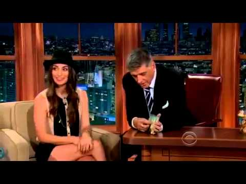 The Late Late Show  Craig Ferguson Sara Bareilles  22 July, 2013 Full Interview