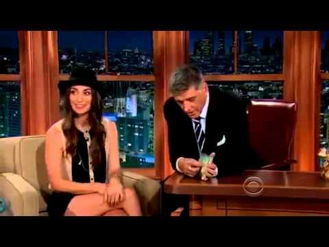 The Late Late ShowCraig Ferguson Sara Bareilles22 July, 2013 Full Interview
