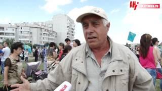 День крымскотатарского флага в Симферополе