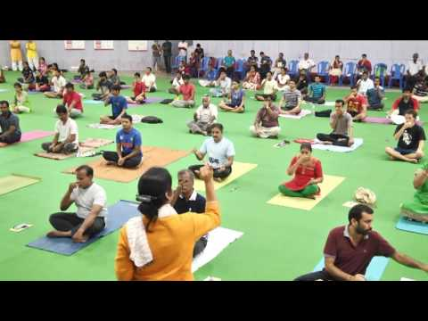 International Day of Yoga 2016 || IIT Madras || Part 7/9 - P