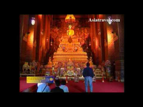 Wat Phra Kaew วัดพระแก้ว, Bangkok Royal Temple by Asiatravel.com