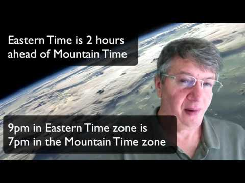 What is the Difference between Mountain Time and Eastern Time
