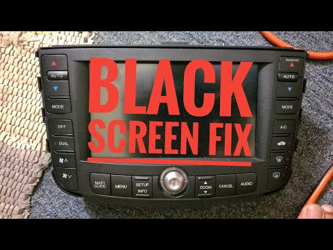 2004-2008 ACURA TL DVD ROM DRIVE REPLACEMENT BLACK SCREEN FIX TUTORIAL