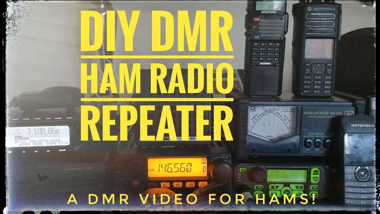 DIY - UHF DMR Ham Radio Repeater