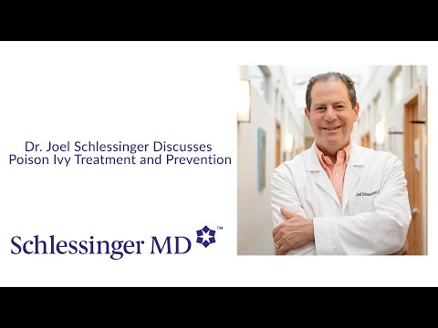 Dr. Joel Schlessinger discusses poison ivy treatment and prevention