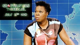 Ghostbusters Release Date Revealed | Leslie Jones Is Mad