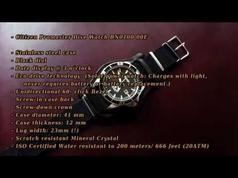 """The Urban Woodsmans EDC Watch - Citizen Promaster Eco-drive Diver """"Excalibur"""""""