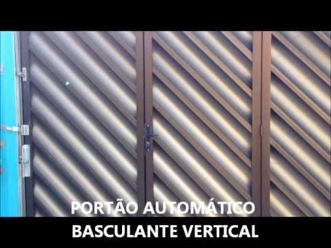 Port o autom tico basculante vertical youtube for Basculante youtube