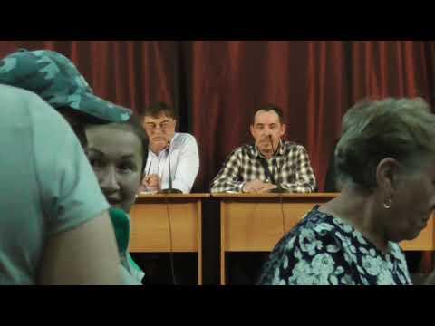 Сход жителей с. Ермаковского по вопросу мусорной реформы 30.05.2019