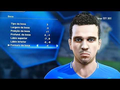 Face Bernard (Everton-Brasil)
