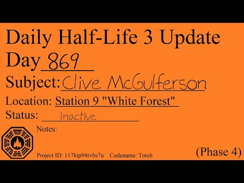 Daily Half-Life 3 Update: Day 869