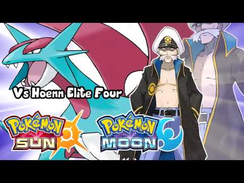 Pokémon Sun & Moon - Vs Hoenn Elite Four Battle Theme Remix