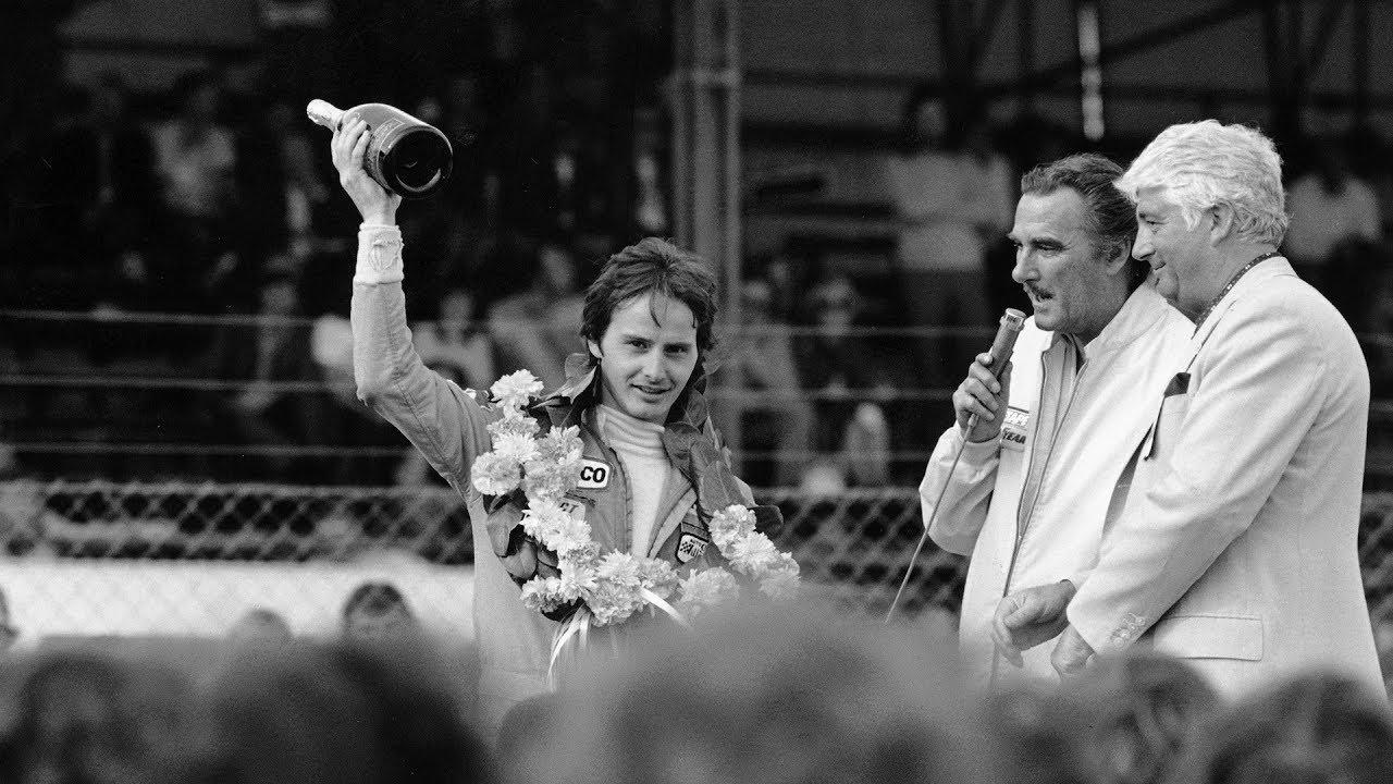 Gilles Villeneuve's F1 debut in a McLaren - Silverstone 1977