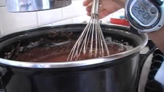 Torta humeda de chocolate (light)