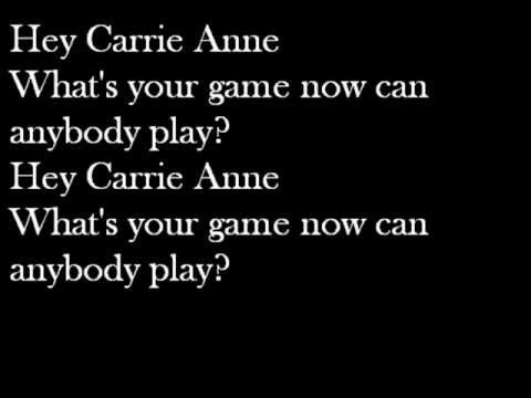 The Hollies - Carrie Anne Lyric Video