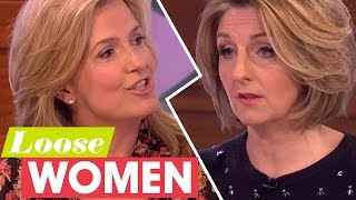 Penny and Kaye Fight Over Chivalry   Loose Women
