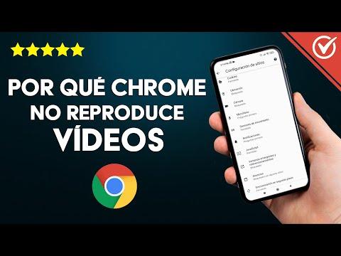 ¿Por qué Chrome no Reproduce Vídeos en PC Windows o Android? - Solución