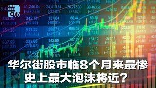 华尔街焦点|华尔街股市临8个月来最惨,史上最大泡沫将近?(20181011)