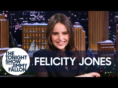 Felicity Jones Shares Her Beyoncé Dance Moves
