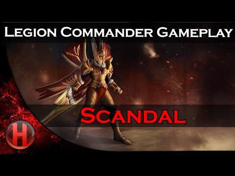Clip siêu sao DOTA 2: Legion trong tay Scandal 6154 MMR