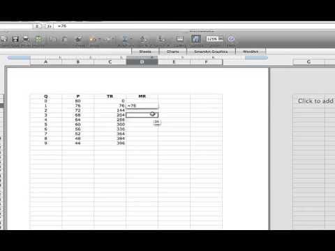 Calculating Marginal Revenue