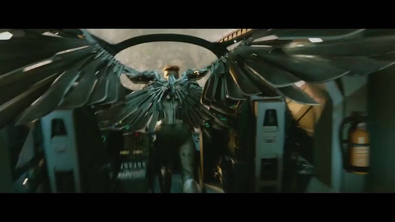 x men apocalypse empowers angel u0027s wings youtube