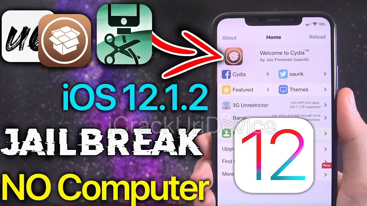 How to Jailbreak iOS 12 1 2 without a Computer - Unc0ver iOS 12 NO PC